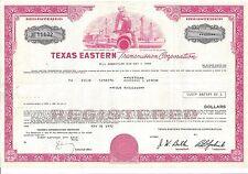 TEXAS EASTERN TRANSMISSION CORPORATION......DEBENTURE DUE 1989