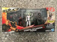 Gi Joe Retaliation Cobra Invasion Team 2012 3-pack Storm Shadow Firefly Trooper