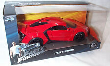 FAST & FURIOUS LYKAN hYPERSPORT 1/24 SCALE DIECAST OPENING FEATURES NEW IN BOX