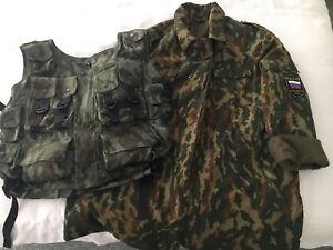 Genuine Russian Army Jacket & Vest (chechen War)