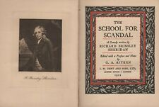 Sheridan: The School for Scandal   1911    Ldr.