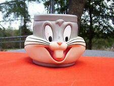 Vintage Warner Bros Looney Tunes Bugs Bunny Plastic Mug Cup 1992 with brochure