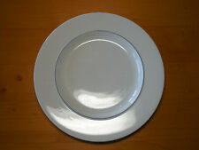 Crate & Barrel Japan EPOCH BLUE LINE Set of 5 Dinner Plates 11""