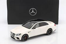 Mercedes E63 S AMG White 1:18 GT Spirit  Edition