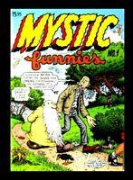 MYSTIC FUNNIES #1, 1997, ROBERT CRUMB, ALEX WOOD, MR. NATURAL, FLAKEY FOONT, UND