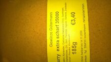 Curry extrascharf 35000 Scoville  185g -OHNE ZUSATZSTOFFE- Gewürze Gütermann