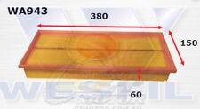 WESFIL AIR FILTER FOR BMW 730i 3.0L, 735i 3.4L 1987-1993 WA943