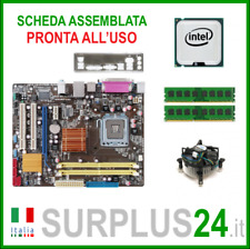 ASUS P5QPL-AM + Core™2 Quad Q8200 + 4GB RAM | Kit Scheda Madre 775 I/O #1408