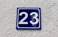 Hausnummer Acryl - Türschild - Postschild - Nummer - Plexiglas