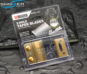Wahl Magic Clipper Replacement Blade Set  2 Hole Stagger Tooth Gold Senior Taper