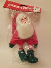 New Old Stock Vintage Santa Elf Green Shoes and Mittens