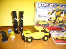 KRE-O TRANSFORMERS BUMBLEBEE 2in1 Hasbro 31144 / 75 Teile / TOP Zustand in OVP