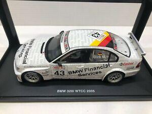 1:18 AutoArt BMW 320i - Dirk Muller - WTCC Race Car