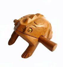 Klangfrosch Holz Percussion Instrument Musik Kinder Figur