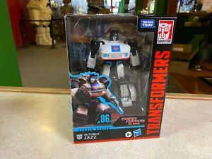 Transformers The Movie Studio Series Deluxe Class NIP -  86 #01 AUTOBOT JAZZ