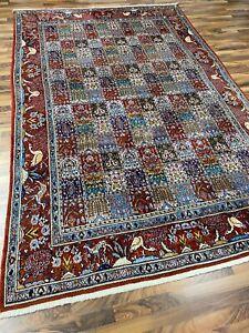 ✔ Mud | 197 x 298 | Handgeknüpft | Orientteppich | Carpet | Rug