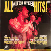 MITCH RYDER ALL MITCH RYDER HITS LP BELL UK NEAR MINT PRO CLEANED