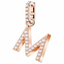 Swarovski 5434395 Remix Charm Rose Gold Plated - Letter M RRP$39