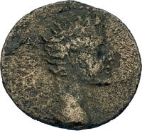 Augustus 27BC LAODICEIA in PHRYGIA Zeus Authentic Ancient Roman Coin i65752