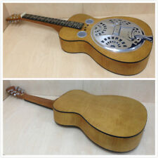 Dobro Hound Dog Deluxe Square Neck Lap Steel Guitar,Flame Maple Veneer-Blemished