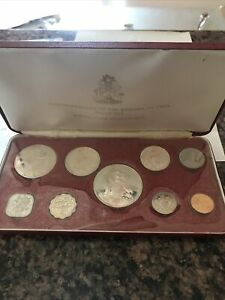 Commonwealth Of The Bahama Islands Proof Set Minted At The Franklin Mint 1972