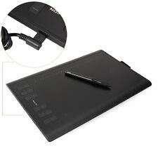 """Huion NEW 1060plus 10x6.25"""" Tavolette Grafica Digital Pen Drawing 12Express Keys"""