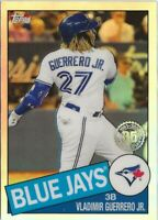 Z1) 2020 Topps Chrome Vladimir Guerrero Jr 35th Refractor SP RC Blue Jays
