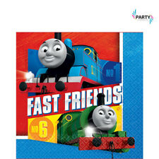 THOMAS THE TANK ENGINE PARTY SUPPLIES 2 PLY LUNCH NAPKINS PACK OF 16