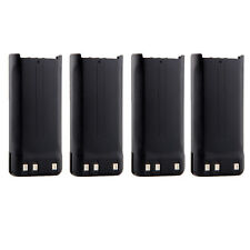 4X 1650mAh Knb-45 Battery for Kenwood Tk-2206 Tk-2200 Tk-2207 Tk-2202 Tk-3200