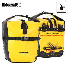 Rhinowalk Fahrradtasche 2er Gepäckträgertaschen Seitentasche 100% Wasserdicht 20