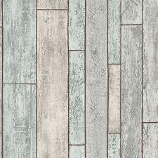 Dipinto in legno consumato Carta da parati in legno pannello PLANKS Incollare Il Muro 6943-10