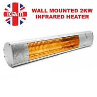 2KW Electric Heater Garage Bodyshop Paint shop Wall Mounted Infrared