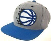 Orlando Magic Hat 🏀 Mitchell & Ness NBA Hardwood Classics Basketball Gray Cap