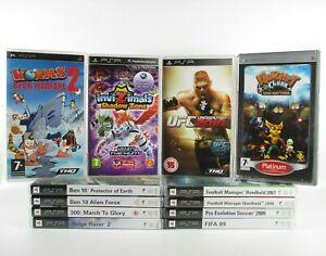 PSP Games Pick Your Own Bundle PlayStation Portable Free UK Postage