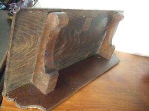 Antique Solid Oak Shelf ,heavy piece, 70cm long x 25.5cm deep