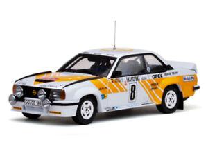 1:18 Sun Star 5351 Opel Ascona 400 1980 Monte Carlo Rally #8 Kleint & Wanger New