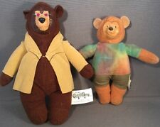 2001  MCDONALDS  Disney The Country Bears Plush Beary Barrinson Ted Bedderhead