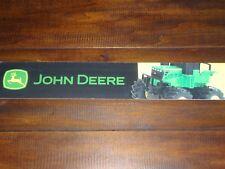 "Toys R Us STORE DISPLAY SIGN Shelf strip Valance JOHN DEERE 47 5/8"" long 3""high"