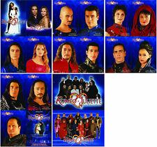 Lot de 18 cartes postales de ROMEO & JULIETTE, Damien SARGUE, Cécila CARA