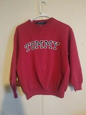 Vintage 90s Tommy Hilfiger Sweater Sweat Shirt Pullover Spellout Size Large