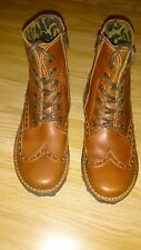 Womens fly london lace up boots size 4