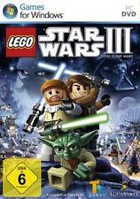 LEGO STAR WARS III 3 THE CLONE WARS DEUTSCH OVP Sehr guter Zustand