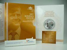 *** 10 EURO Gedenkmünze NIEDERLANDE 2013 König Willem Alexander PP Proof Silber