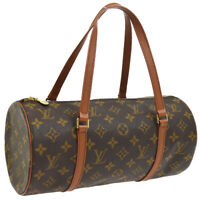 LOUIS VUITTON PAPILLON 30 HAND BAG PURSE MONOGRAM CANVAS M51365 TH1925 A46601b