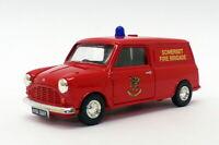 Vanguards 1/43 Scale VA14012 - Austin Mini Van - Somerset Fire Brigade