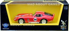 SHELBY COBRA DAYTONA COUPE 1:43 Car Model Die Cast Metal Models Miniature Red