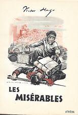 Les Misérables T3 Victor Hugo ATHENA 1956 Derambure Numéroté (2)274/5000