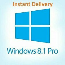 Genuine Window 8.1 Pro Lifetime Activation License Key (INSTANT DELIVERY)