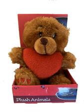 Valentine's Day Plush Mini Pink, Brown Bear Dog Red Heart Gift Card Holder Love