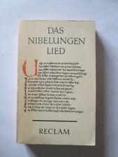 Good - Das Nibelungenlied. Übers., eingel. u. erl. von, Reclams Universal-Biblio
